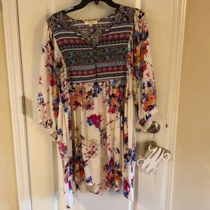 Umgee tunic dress